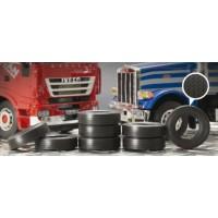 Italeri 1/24 Truck rubber tyres (8x)