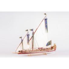 Dusek Ship Kits La Real 1/72 (L68,5, W38, H64,5cm)
