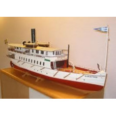 NCB Boats S/S MARIEFRED - legendary SE steamship (L93 cm)1/32
