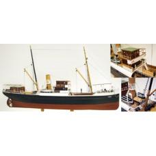 Turk Models (Boats) Bandirma - Steamfreighter (L 62 cm)1/87