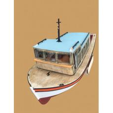 Turk Models (Boats) Pasabahce - Bosperous passenger ferry (w. LED light ) - (L 90 cm  1/87