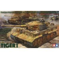 Tamiya 1/35 Tiger I w/Ace Commander & Crew