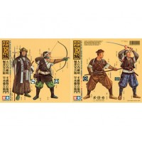 Tamiya 1/35 Samurai Warriors (4 Figures)