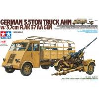 Tamiya 1/35 German 3.5t truck Renault AHN w/3.7cm Flak 37 AA Gun