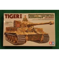Tamiya 1/35 German Tiger I, late version