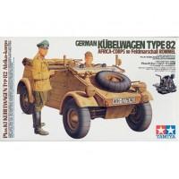 Tamiya 1/16 German Kubelwagen Type 82 Africa Corps