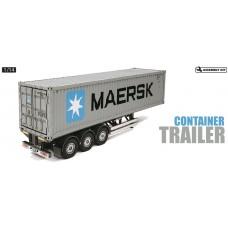 Tamiya 1/14 40ft MAERSK container m. semi trailer