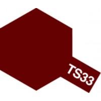 Tamiya sprayfärg 100ml : TS-33 Dull red