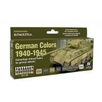Vallejo 71206 German colors 1940-1945 6x17ml