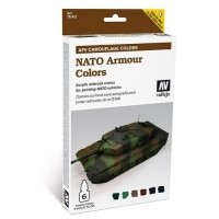 Vallejo 78413 nato camouflage-afv set 6 color 8 ml.