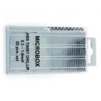 Vallejo Microbox drill set (20) 0.3-1.6mm